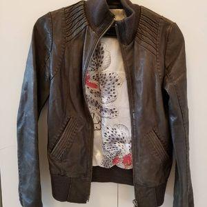 Mackage | 🏍 Aritzia | XS Leather Bomber Jacket